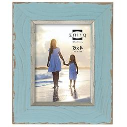 Prinz Clearwater Distressed Wood Frame with Gilded Border, 4