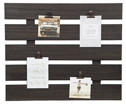Gallery Solutions 18.5 X 22 Clip Pallet Collage Frame, Grey