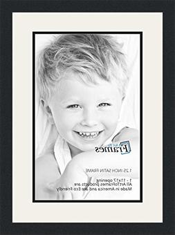 ArtToFrames Collage Photo Frame Double Mat with 1 - 11x17 Op
