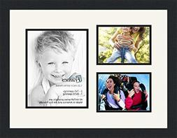 ArtToFrames Collage Photo Frame Double Mat with 1 - 8x10 and
