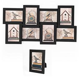 "SONGMICS Picture Frames Collage for 8 Photos in 4"" x 6"" and"