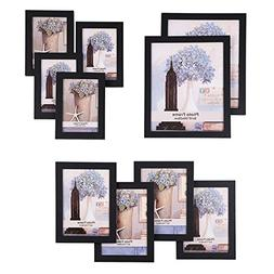 SONGMICS Picture Frames Set of 10 Photo Frame - Two 8x10 in,