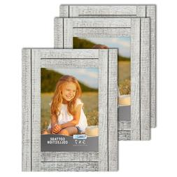 Icona Bay Cottage Picture Frames Distressed Wood Look Farmho