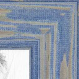 ArtToFrames Custom Picture Poster Frame Blue Deep Periwinkle