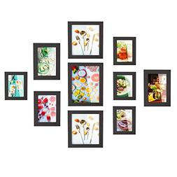 HOMFA 10pcs DIY Photo Frame Value Set, Picture Frames Wall A