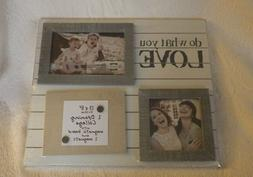 Prinz Do What You Love Collage Photo Frame W/Magnetic Board