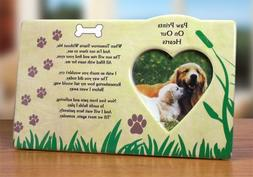 Dog Bereavement Memorial Photo Frame Inspirational Picture F