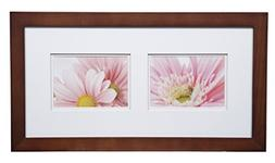 Gallery Solutions 10X20 Double Gallery Frame, Matted to 2-5X