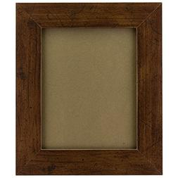 Craig Frames FM74DKW 8.5 by 11-Inch Rustic Photo Frame, Smoo