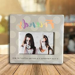 Friends Picture Frame - 4 x 6 Inch Photo Frame with Friends