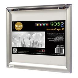 SECO Front Load Easy Open Snap Frame Poster/Picture Frame 8.