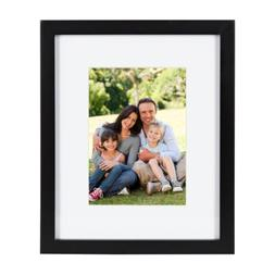 gallery wood picture frame black by