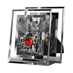 Gift garden Modern Glass Picture Frame 4x6 Friends gifs for