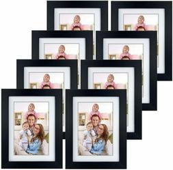 Giftgarden 4x6 Picture Frames Set of 8, Display 4x6 Pictures