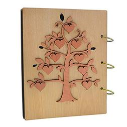Giftgarden the Fruit of the Family Tree 5x7 Photo Album Wood