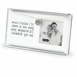 "Glass Mom Clip Frame 3.5"" x 6.5"" FREE SHIPPING!"