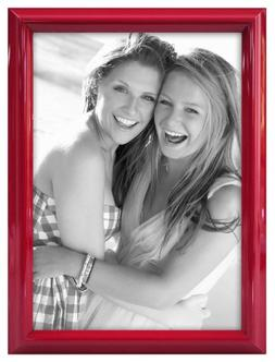 MCS 4x6 Inch Glossy Color Frame, Red