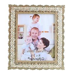 Giftgarden Golden Vintage Picture Frame 8x10 Friends Gift fo