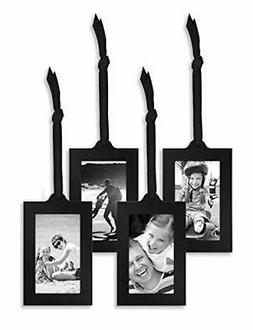 Americanflat Hanging Picture Frames in Black Metal with Ribb