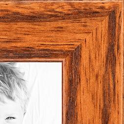 ArtToFrames 11x14 inch Honey on Red Oak Wood Picture Frame,