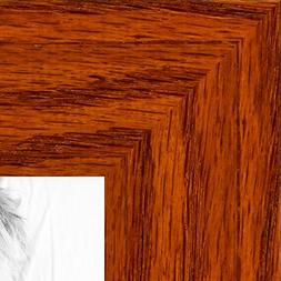 ArtToFrames 9x12 inch Honey Stain on Oak Wood Picture Frame,
