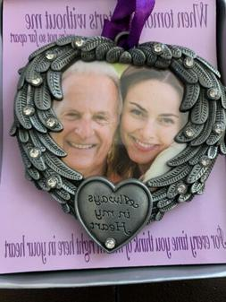 BANBERRY DESIGNS IN MEMORY Photo Frame Ornament Always in My