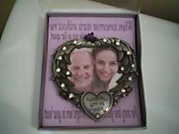 BANBERRY DESIGNS IN MEMORY Photo Frame Ornament - Always in