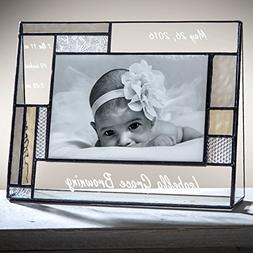 J Devlin Pic 392-46H EP530 Personalized Baby Frame Engraved