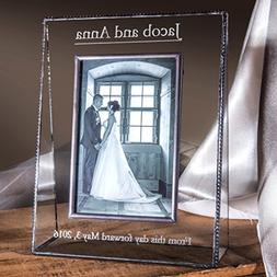 J Devlin Pic 319-57V EP548 Clear Glass 5x7 Picture Frame Ver