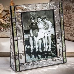 J Devlin Pic 385-57V Green Stained Glass Photo Frames Pictur
