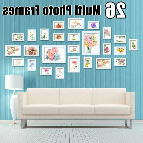 11 26Pcs Photo Frame Set Hanging Picture Modern Display Wall