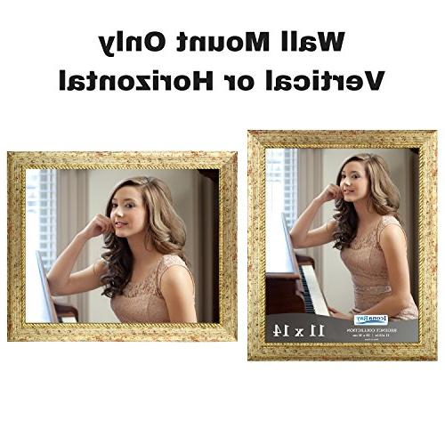 Icona by 14 Picture Frame, Deluxe as 14x11 Picture or Portrait as 11x14, Regency Collection