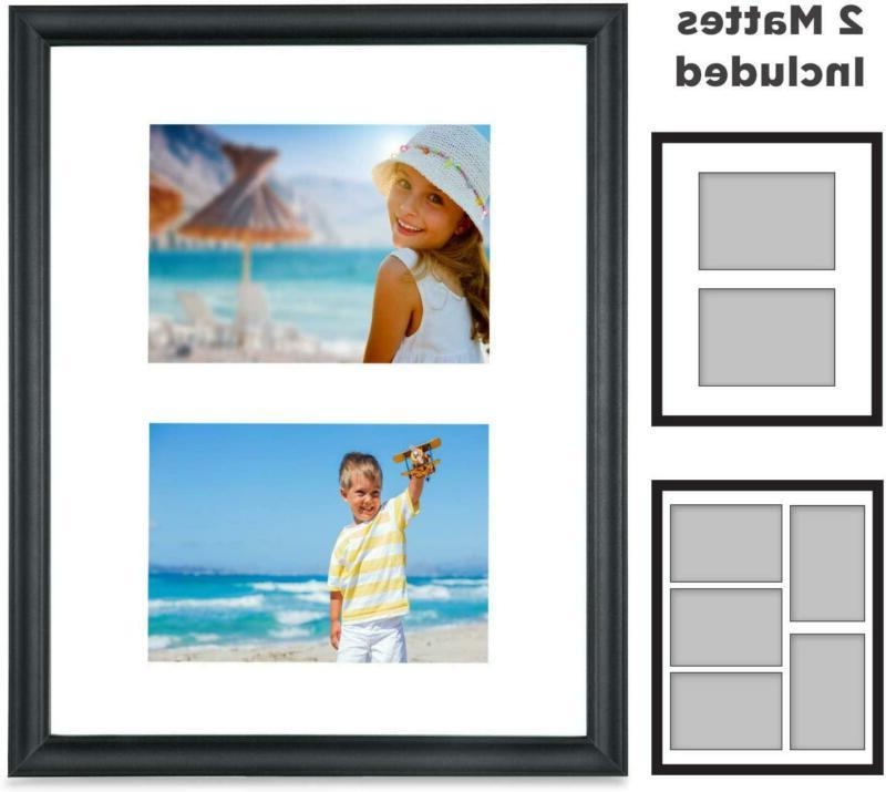 11x14 picture frames collage with 2 mat