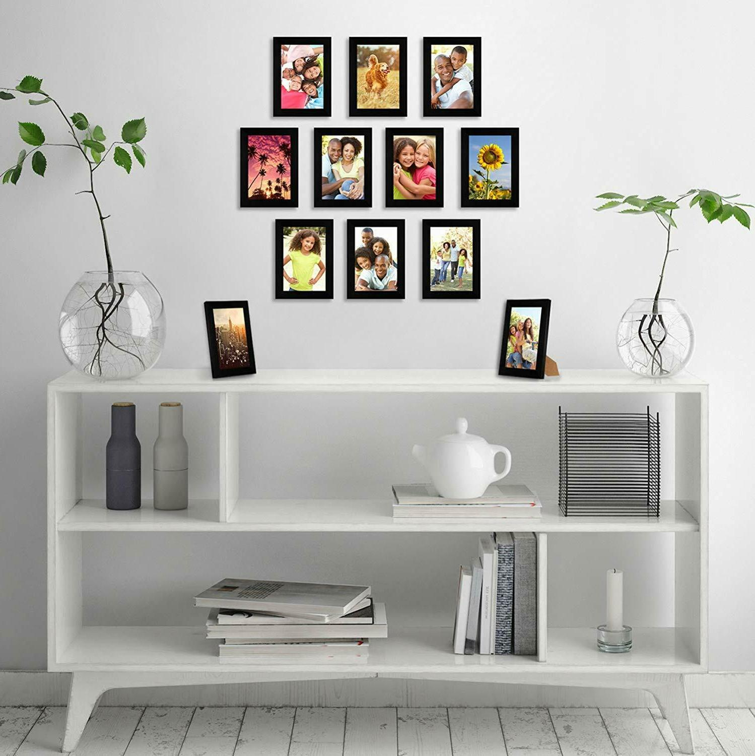 Americanflat 12 Pack - 4x6 Picture Display Inches
