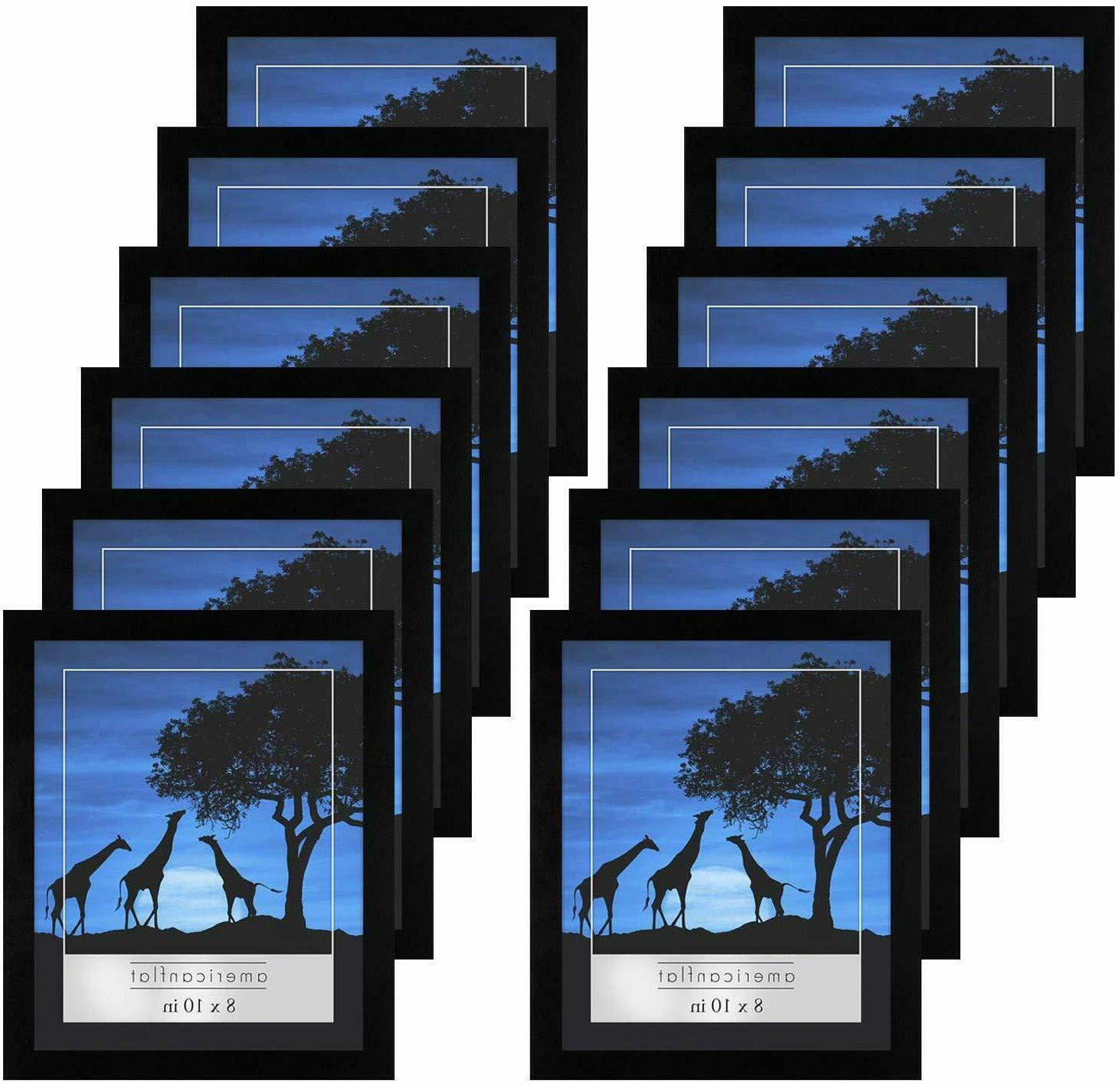 12 pack 8x10 picture frames display pictures
