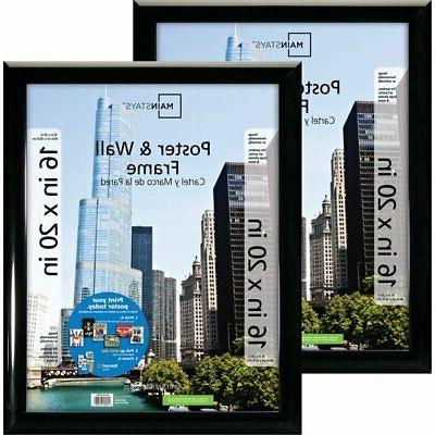 Mainstays Poster and Picture Frame Assorted Sizes