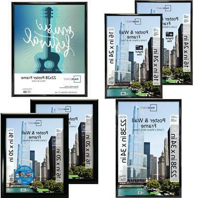 16x24 trendsetter poster and picture frame black