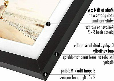 Americanflat 2 Picture Frames 4x6, 5x7, 6x8