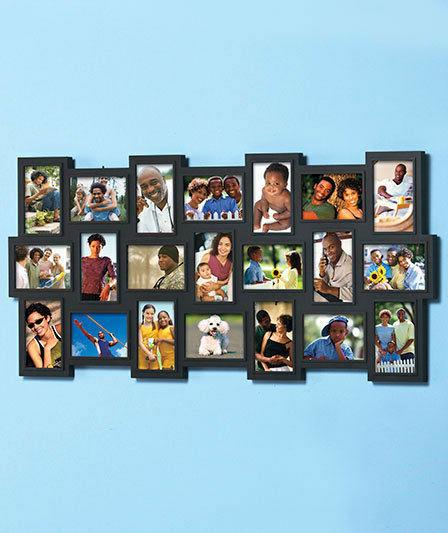 21 PHOTO WALL FRAME DISPLAY HORIZONTAL VERTICAL Home