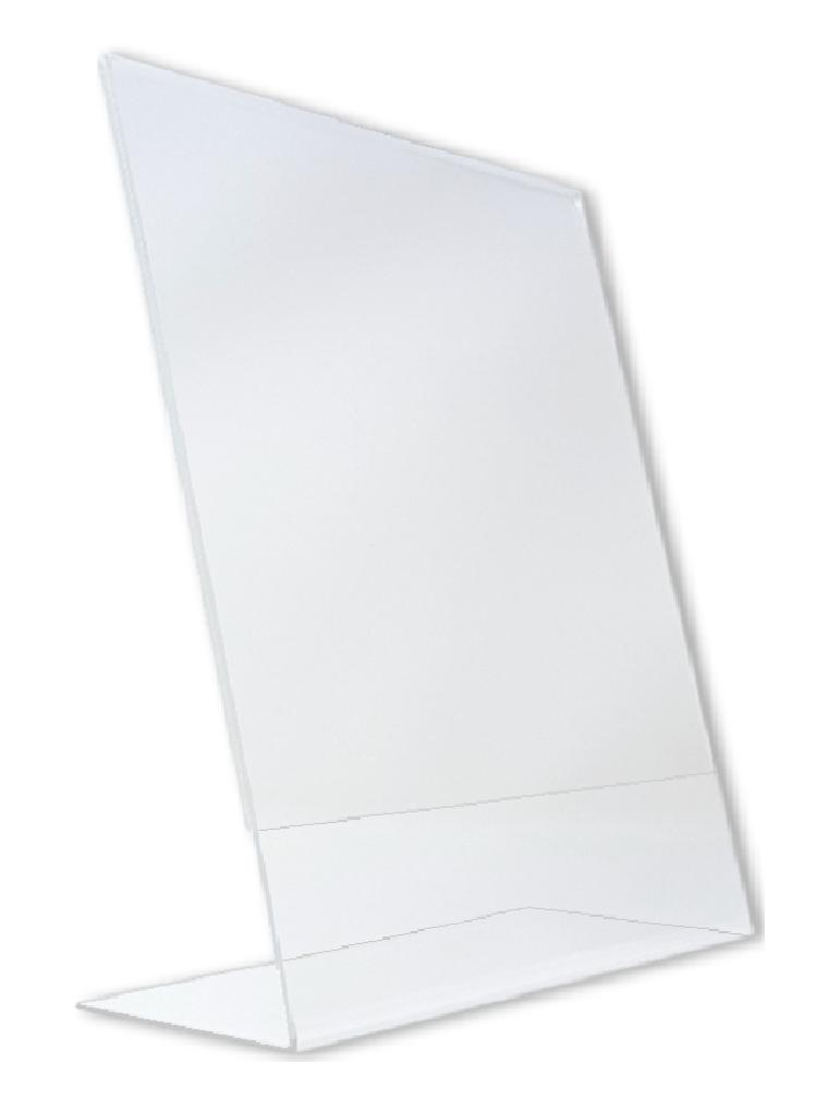 4 x 6 Vertical acrylic picture frame display / sign holder w