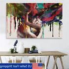 45x30cm Abstract Couple Canvas Painting Print Art Picture Ho
