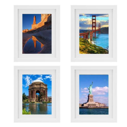 4pcs picture photo wall frame hanging display