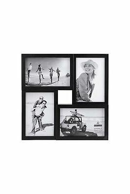4x6 4 opening matted collage picture frame