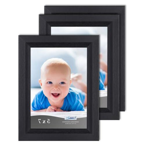 5 x 7 black picture frame 3