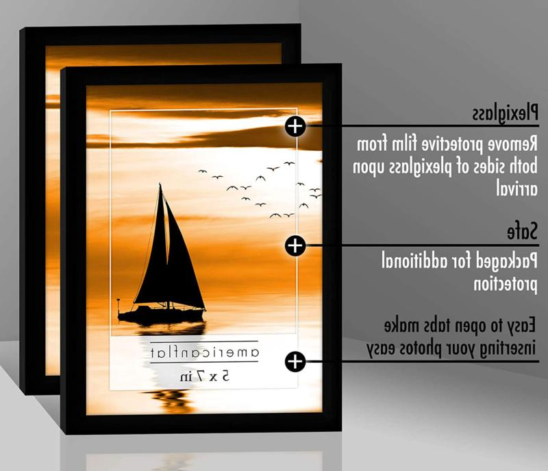 Americanflat Picture Frames 5x7 inch Polished