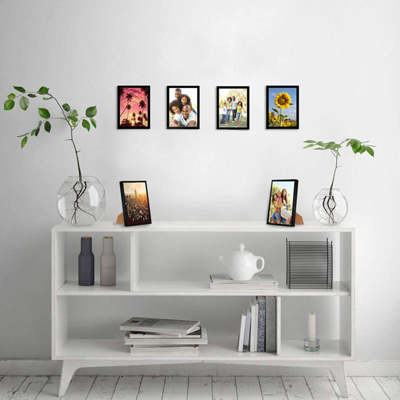 Americanflat 6 Picture Frames | 5x7 Pictures. Polished