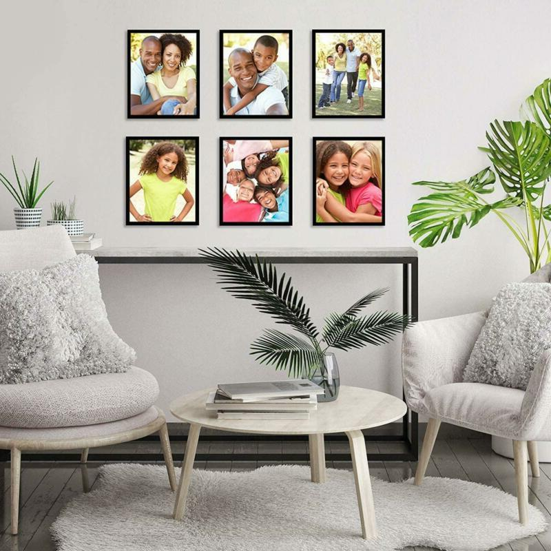Americanflat 6 Pack Picture Frames Easels | 8X10 Photos