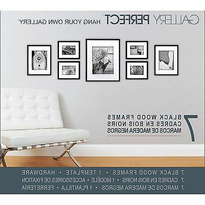 Gallery Perfect 7-Piece Frame Set NEW NEW NEW