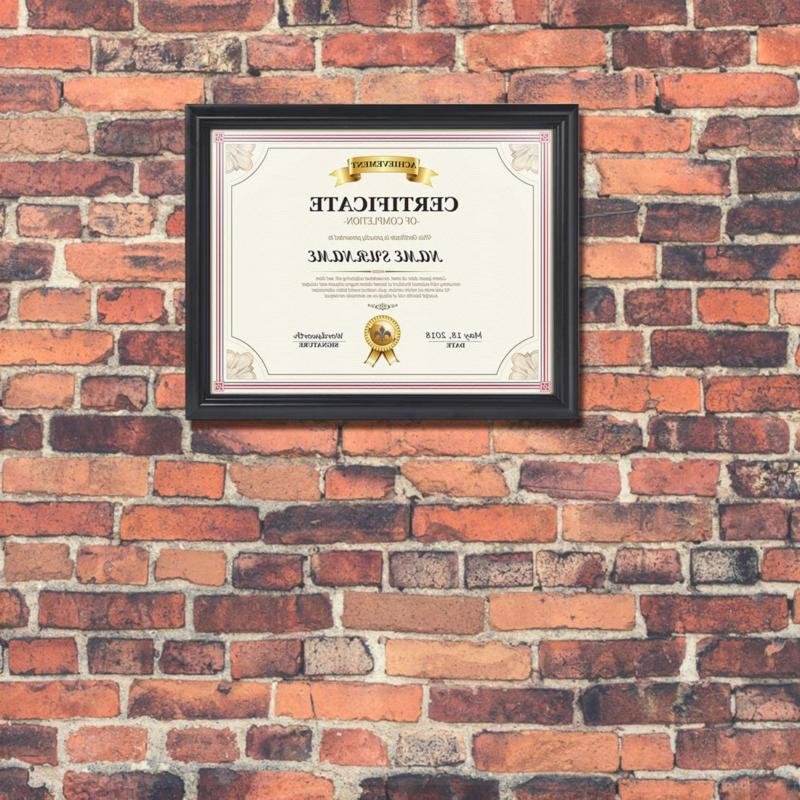 Calenzana 8.5x11 Certificate Document Diploma Picture Frames x