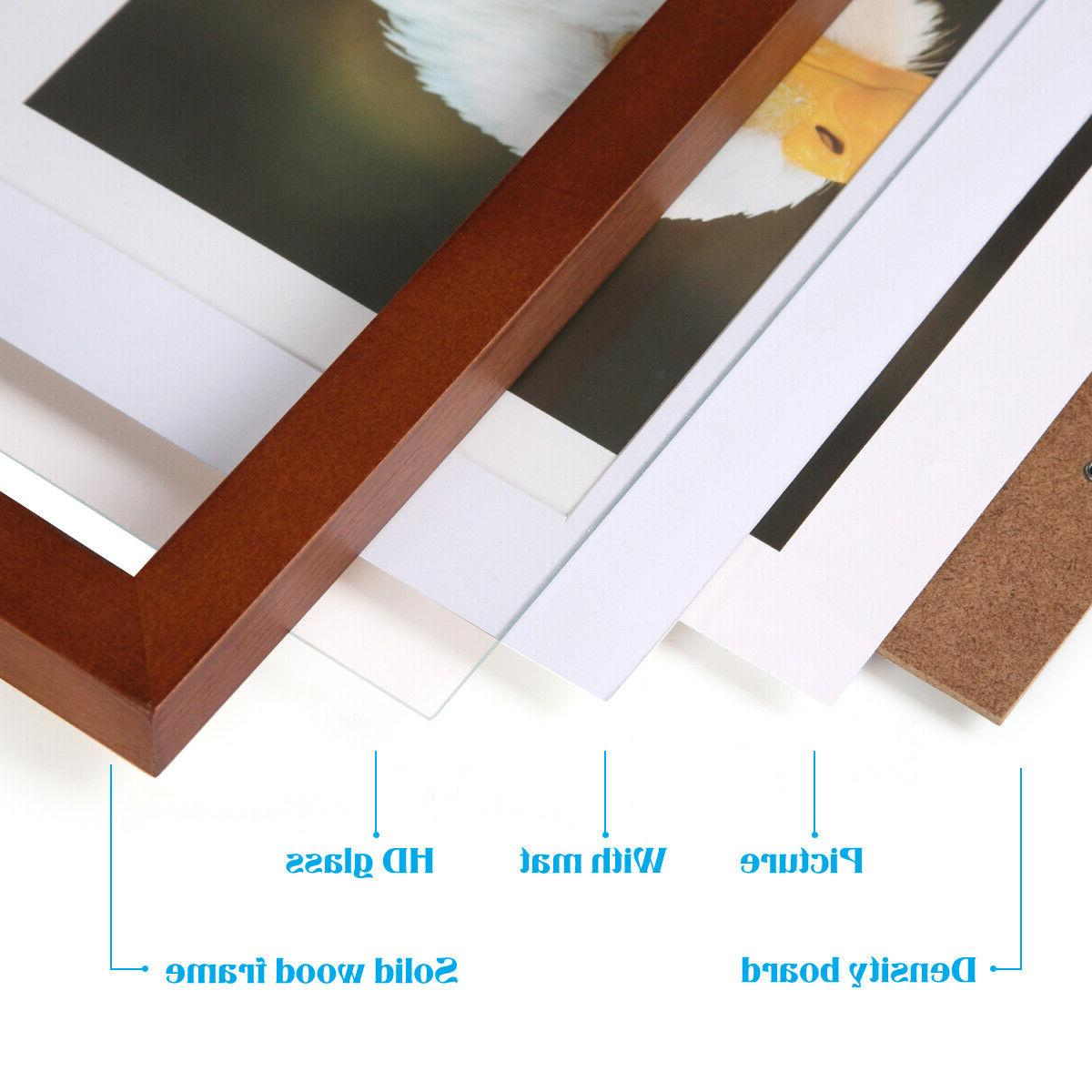 8x10 Picture Frames Table Wall brown